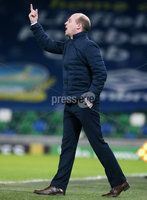 Tennent\'s Irish Cup Quarter-Final, Windsor Park, Belfast 13/3/2018 . Linfield vs Cliftonville. Cliftonville\'s manager Barry Gray. Mandatory Credit ©INPHO/Jonathan Porter