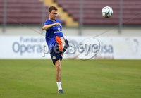 Press Eye - Belfast -  Northern Ireland - 28th May 2018 - Photo by William Cherry/Presseye. Northern Ireland\'s Jonny Evans during Monday evenings training session at the Estadio Rommel Fernandez, Panama City.