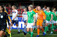 Press Eye - Belfast - Northern Ireland - 8th October 2019. European Women\'s U19 Championship 2020 Qualifying Round -  Northern Ireland Vs Norway, Seaview. . Picture by Jonathan Porter/PressEye
