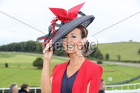 Press Eye - Belfast - Northern Ireland - 11th August 2019 - Grainne Quinn from Castlewellan pictured at the Downpatrick Racecourse Style Sunday race meeting. . Photograph by Declan Roughan / Press Eye