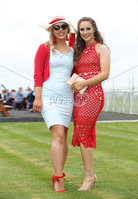 Press Eye - Belfast - Northern Ireland - 7th May 2018  - . May Day Meeting at Down Royal Racecourse.. Maeve McCullagh and Aoife McConnell pictured at the County Down racecourse.. Photo by Kelvin Boyes / Press Eye .