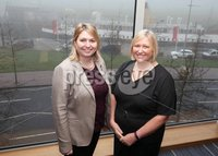 Press Eye - Belfast - 10th January 2018  . Rt Hon Karen Bradley MP visits Northern Ireland for her first official engagement as Secretary of State for Northern Ireland. The Secretary of State visited Belfast Metropolitan College where she met Students and staff.. Rt Hon Karen Bradley MP State for Northern Ireland and Gillian Magee Head of Corporate Development at Belfast Metropolitan College.. Picture by Matt Mackey / Presseye.com