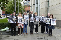 3rd September 2019. The Ballymurphy families were at Belfast Laganside Court for the continuation of the inquest.. Mandatory Credit Presseye/Stephen Hamilton. See Alan Irwin Copy