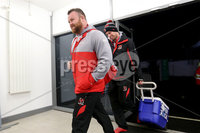 European Rugby Champions Cup Round 4, Kingspan Stadium, Belfast 15/12/2017. Ulster vs Harlequins. Ulster\'s Andy Warwick arrives. Mandatory Credit ©INPHO/Bryan Keane