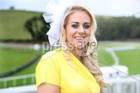 Press Eye - Belfast - Northern Ireland - 11th August 2019 - Adele O Connor, pictured at the Downpatrick Racecourse Style Sunday race meeting. . Photograph by Declan Roughan / Press Eye