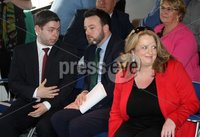 Press Eye © Belfast - Northern Ireland. Photo by Freddie Parkinson / Press Eye ©. Wednesday 17th May 2017. SDLP Leader Colum Eastwood formally launched the party's 2017  . Westminster Election campaign in the Newcastle Centre, 10-14 Central Promenade, Newcastle, Co Down..