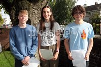 Mandatory Credit - Picture by Freddie Parkinson/Press Eye . Thursday 15 August 2019. Ballyclare High School. A Level Results on the increase once again in Ballyclare High School.. Issac McCollum B, C,E , Charlotte Robinson 3A* and Scott Mrshall 3A*