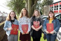 Mandatory Credit - Picture by Freddie Parkinson/Press Eye . Thursday 15 August 2019. Ballyclare High School. A Level Results on the increase once again in Ballyclare High School.. Fay Hunter 2A* A, Edel McIlroy 3A , Aimee Hamilton 3A* and Aimee Jenkins A* A B.