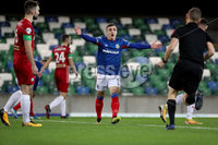 Press Eye - Belfast, Northern Ireland - 29th October 2019 - Photo by William Cherry/Presseye. Linfield\'s Joel Cooper during Tuesday nights BetMcLean League Cup game at Windsor Park, Belfast.     Photo by William Cherry/Presseye