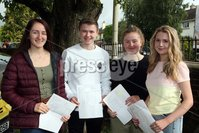 Mandatory Credit - Picture by Freddie Parkinson/Press Eye . Thursday 15 August 2019. Ballyclare High School. A Level Results on the increase once again in Ballyclare High School.. Lauren Kilgore 4A, Timothy Moore 4A, Ellen Bowden 4A and Franki Gammon 4A.