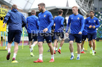 Press Eye - Belfast - Northern Ireland - 8th  September 2019. Northern Ireland train at the National Stadium ahead of their UEFA Euro Qualifier against Germany.. Picture by Declan Roughan/PressEye. Stuart Dallas