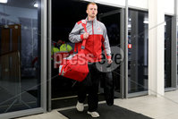 European Rugby Champions Cup Round 4, Kingspan Stadium, Belfast 15/12/2017. Ulster vs Harlequins. Ulster\'s Peter Nelson arrives. Mandatory Credit ©INPHO/Bryan Keane