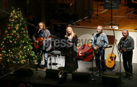 Press Eye - Belfast -  Northern Ireland - 14th December 2015 - Photo by William Cherry. The Sands Family pictured at the BBC Radio Ulster 40th Birthday gala concert at the Ulster Hall, Belfast.