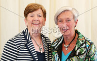 2 September 15 -   Picture by Darren Kidd / Press Eye.. Hillsborough Oyster Festival 2015:. Oyster Festival Musical Evening: The Ulster Youth Orchestra performing for the first time at Hillsborough International Oyster Festival along with the Portadown Male Voice Choir and soloist Zoe Jackson.. Pictured are Edna Agnew and Elma Watt