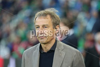PressEye-Northern Ireland- 9th September  2019-Picture by Brian Little/PressEye. Former Germany international Jurgen Klinsmann during Monday\'s  European Championship Qualifying Group C match  at the National  Football Stadium at Windsor Park,Belfast.. Picture by Brian Little/PressEye .