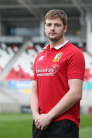 PressEye - Belfast - Northern Ireland - 19 April 2017. Iain Henderson at Kingspan Stadium after being selected for the British and Irish Lions squad.. Picture: Philip Magowan / PressEye
