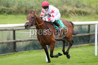 Press Eye - Belfast - Northern Ireland - 11th August 2019 - Downpatrick Racecourse Style Sunday race meeting. . Race 2:  2.20. Molson Coors Rated Hurdle of 20,000.00 2m. 2f. 165yds.. Winner:  Jonathan Moore on board DARVER STAR.