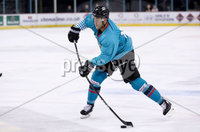 Press Eye - Belfast -  Northern Ireland - 24th August 2019 - Photo by William Cherry/Presseye . Belfast Giants\' Jean Dupuy during Saturday nights Exhibition Game against Herning Blue Fox at the SSE Arena, Belfast.    Photo by William Cherry/Presseye