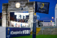European Rugby Champions Cup Round 4, Kingspan Stadium, Belfast 15/12/2017. Ulster vs Harlequins. A view of a Champions Cup branded flag before the game . Mandatory Credit ©INPHO/Bryan Keane