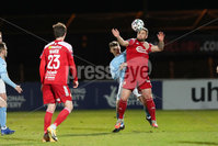 Sadler\'s Peaky Blinders Irish Cup First Round. The Showgrounds, Ballymena, Northern Ireland 27/4/21. Ballymena United vs Portadown. Portadowns Adam Salley. Mandatory Credit INPHO/PressEye/Philip Magowan