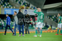 Press Eye - Belfast - Northern Ireland - 12th November 2020. European Qualifier. Northern Ireland v Slovakia. Northern Ireland\'s Liam Boyce.. Picture: Philip Magowan / Press Eye