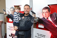 Press Eye - Belfast - Northern Ireland - 30th September 2018 - . Stephen and Jake Whalley pictured at Movie House Dublin Road for a special preview screening of upcoming comedy, JOHNNY ENGLISH STRIKES AGAIN, in cinemas across Northern Ireland from Friday 5th October.. Photo by Kelvin Boyes / Press Eye..