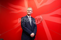 Press Eye - Belfast - Northern Ireland  - 3rd May 2021. DUP MP for Lagan Valley Jeffrey Donaldson pictured at party HQ in east Belfast where he announced his bid for the DUP leadership.  . Picture by Jonathan Porter/PressEye