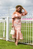 Press Eye - Belfast - Northern Ireland - 22nd June 2019 - . Summer Festival Of Racing Day 2 at Down Royal Racecourse.. Melissa Riddell pictured at Down Royal Racecourse.. Photo by Kelvin Boyes / Press Eye.