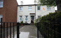 Press Eye - Northern Ireland - 20th April 2017 - Photographer - © Matt Mackey / Presseye.com. The Scene at a house in the Aitnamona Crescent area of West Belfast,. Just after 10pm on Wednesday night a number of shots were fired at the house. Two people were in the property at the time however no-one was injured..