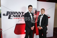 Press Eye - Belfast - Northern Ireland - 30th September 2018 - . Padraig O\'Luasa and David Priestman pictured at Movie House Dublin Road for a special preview screening of upcoming comedy, JOHNNY ENGLISH STRIKES AGAIN, in cinemas across Northern Ireland from Friday 5th October.. Photo by Kelvin Boyes / Press Eye..