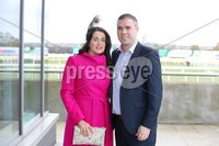 Press Eye - Belfast - Northern Ireland - 3rd November 2018 . Down Royal Festival of Racing - Day 2. Claire and Ryan McGeary pictured at Down Royal . Photo by Kelvin Boyes / Press Eye..