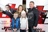 Press Eye - Belfast - Northern Ireland - 30th September 2018 - . Billy, Kerry, Katie Rose and Lorcan McQuade-Mallon pictured at Movie House Dublin Road for a special preview screening of upcoming comedy, JOHNNY ENGLISH STRIKES AGAIN, in cinemas across Northern Ireland from Friday 5th October.. Photo by Kelvin Boyes / Press Eye..