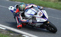 PressEye-Northern Ireland- 9th August 2018-Picture by Brian Little/ Double Red. Ulster Grand Prix Practice . Peter Hickman Smiths Racing BMW S1000RR during Superbike practice for the Ulster Grand Prix races around the Dundrod 7.4 mile circuit. . Picture by Brian Little/Double Red