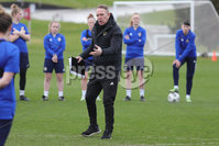 PressEye - Belfast - Northern Ireland - 22nd February 2021. Northern Ireland\'s Kenny Shiels during Monday afternoons training session ahead of Tuesday\'s Women\'s Friendly International against England at St George\'s Park, England. . Picture: Philip Magowan / Press Eye