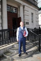 Mandatory Credit - Picture by Freddie Parkinson/Press Eye . Tuesday 14 May 2019. Judgment is being given at the High Court in Jamie Bryson\' s legal challenge to the legality of search warrants used in an investigation into unlicensed door staff.