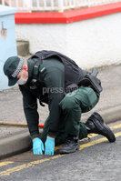 Press Eye - Belfast - Northern Ireland - 4th March 2018 - . Photo by Lorcan Doherty / Press Eye.. Derry murder scene . The scene at Grafton Street, as PSNI officer investigate the murder of a 35 year old man, Karol Kelly, in the early hours of Sunday morning.Three men, aged 19, 20 and 27, have been arrested.