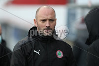 Danske Bank Premiership, Inver Park, Co. Antrim, Northern Ireland 21/11/2020. Larne vs Cliftonville. Cliftonville manager Paddy McLaughlin    during Saturday\'s  Danske Bank Premiership match at Inver Park, Larne.. Mandatory Credit INPHO/Presseye/Brian Little