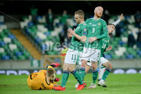 Press Eye - Belfast - Northern Ireland - 12th November 2020. European Qualifier. Northern Ireland v Slovakia. Picture: Philip Magowan / Press Eye