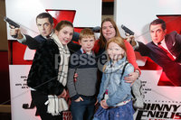 Press Eye - Belfast - Northern Ireland - 30th September 2018 - . Emily, Scott, Jennifer and Sophie Neill pictured at Movie House Dublin Road for a special preview screening of upcoming comedy, JOHNNY ENGLISH STRIKES AGAIN, in cinemas across Northern Ireland from Friday 5th October.. Photo by Kelvin Boyes / Press Eye..