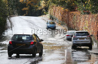 Press Eye - Belfast - Northern Ireland - 7th November 2018. Flooding on the Upper Malone Road in Belfast after Northern Ireland seen heavy rain overnight. . Picture by Jonathan Porter/PressEye