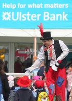 Press Eye - Belfast - Northern Ireland - 16th May 2019. Day two of the Balmoral Show in partnership with Ulster Bank at Balmoral Park outside Lisburn.  Entertainment during the show. . Picture by Jonathan Porter/PressEye
