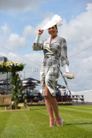 Press Eye - Belfast - Northern Ireland - 22nd June 2019 - . Summer Festival Of Racing Day 2 at Down Royal Racecourse.. Rebecca McKinney pictured at Down Royal Racecourse.. Photo by Kelvin Boyes / Press Eye.