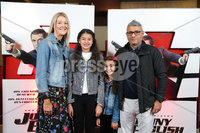 Press Eye - Belfast - Northern Ireland - 30th September 2018 - . Sorcha, Jasmine, Amelie and Ali Haider pictured at Movie House Dublin Road for a special preview screening of upcoming comedy, JOHNNY ENGLISH STRIKES AGAIN, in cinemas across Northern Ireland from Friday 5th October.. Photo by Kelvin Boyes / Press Eye..