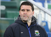PressEye-Northern Ireland- 18th April 2017-Picture by Brian Little/PressEye. Linfield manager David Healy after a 3-0 victory against  Glenavon   during Easter Tuesday\'s Danske Bank Section A match at Windsor Park.. Picture by Brian Little/PressEye