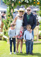 Press Eye - Belfast - Northern Ireland - 22nd June 2019 - . Summer Festival Of Racing Day 2 at Down Royal Racecourse.. Molly, Lee, Jamie and Conor McCluskey pictured at Down Royal Racecourse.. Photo by Kelvin Boyes / Press Eye.