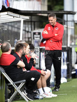 11th July 2019. Europa league First round qualifying match between Crusaders and B36 Torshavn at Seaview Belfast.. Crusaders Stephen Baxter. Mandatory Credit / Stephen Hamilton/Inpho