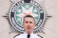 Press Eye - Belfast - Northern Ireland - 8th April 2021. PSNI Assistant Chief Constable Jonathan Roberts speaks to the press at police headquarters, east Belfast, regarding the ongoing violence in Belfast and other parts of Northern Ireland. . Picture by Jonathan Porter/PressEye
