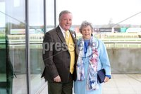Press Eye - Belfast - Northern Ireland - 3rd November 2018 . Down Royal Festival of Racing - Day 2. Deric and Clare Henderson pictured at Down Royal . Photo by Kelvin Boyes / Press Eye..