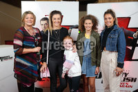 Press Eye - Belfast - Northern Ireland - 30th September 2018 - . Lynn McCourt, Leah McCourt, Isobella McCourt, Anna Zacharopoulou and Emma Zacharopoulou pictured at Movie House Dublin Road for a special preview screening of upcoming comedy, JOHNNY ENGLISH STRIKES AGAIN, in cinemas across Northern Ireland from Friday 5th October.. Photo by Kelvin Boyes / Press Eye..