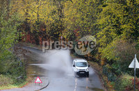 Press Eye - Belfast - Northern Ireland - 7th November 2018. Flooding on the Hillhall Road near Lisburn after Northern Ireland seen heavy rain overnight. . Picture by Jonathan Porter/PressEye